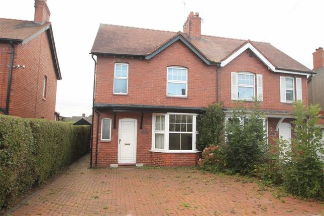 Thumbnail Semi-detached house for sale in Llanymynech
