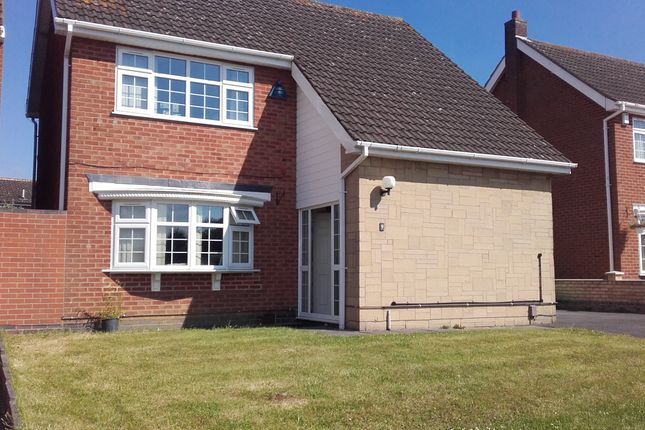 Thumbnail Detached house to rent in Severn Road, Oadby, Leicester