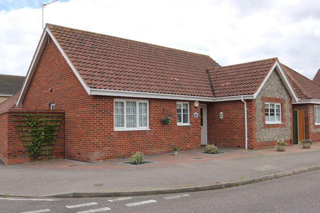 Thumbnail Detached bungalow for sale in Willowvale, Lowestoft