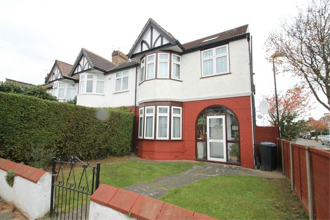 Thumbnail End terrace house for sale in Ridge Road, London