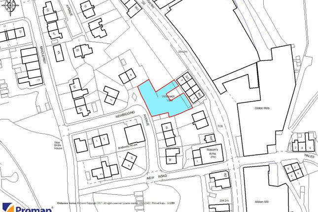 Thumbnail Land for sale in Land Off Newbigging Avenue, Waterfoot