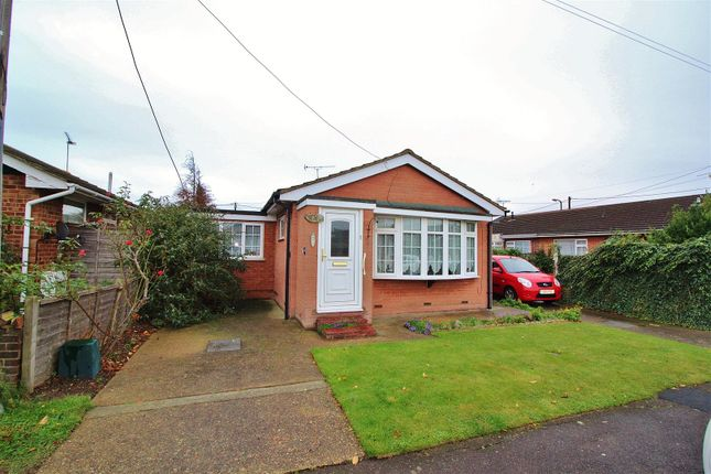 Thumbnail Detached bungalow for sale in Henson Avenue, Canvey Island