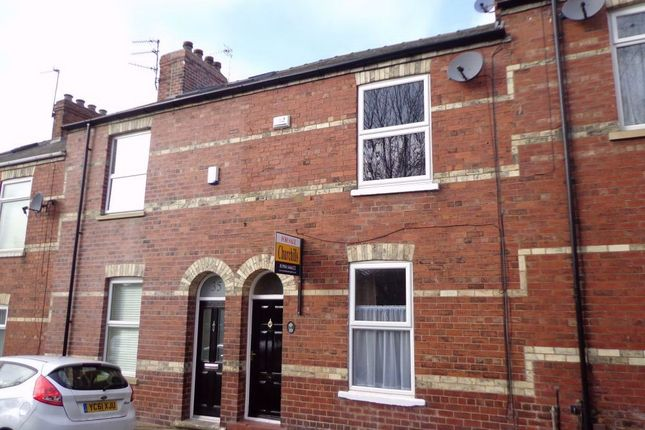 Thumbnail Terraced house to rent in Compton Street, York