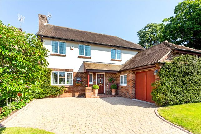 Thumbnail Detached house for sale in Fletchers Field, Liphook, Hampshire