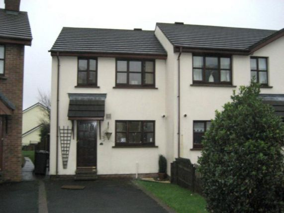 Thumbnail Town house to rent in Abbeyfields, Douglas