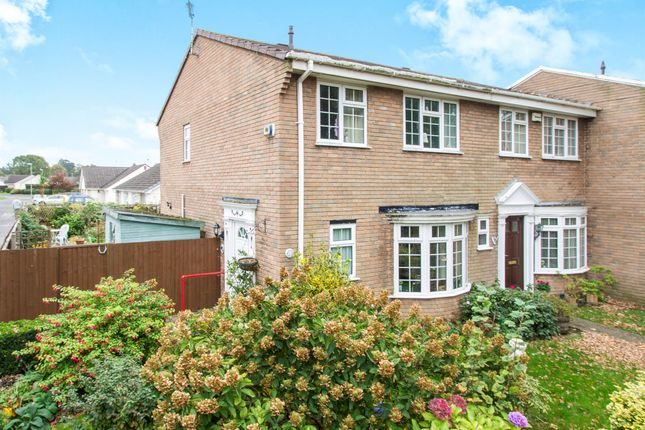 Thumbnail End terrace house for sale in Warren Walk, Ferndown