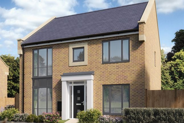 "Thumbnail Detached house for sale in ""The Hadleigh"" at Hayfield Way, Bishops Cleeve, Cheltenham"