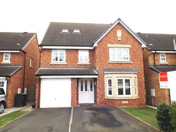 Thumbnail Detached house for sale in Wakenshaw Drive, Newton Aycliffe, County Durham