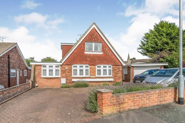 Thumbnail Bungalow for sale in Ash Crescent, Higham, Rochester, Kent