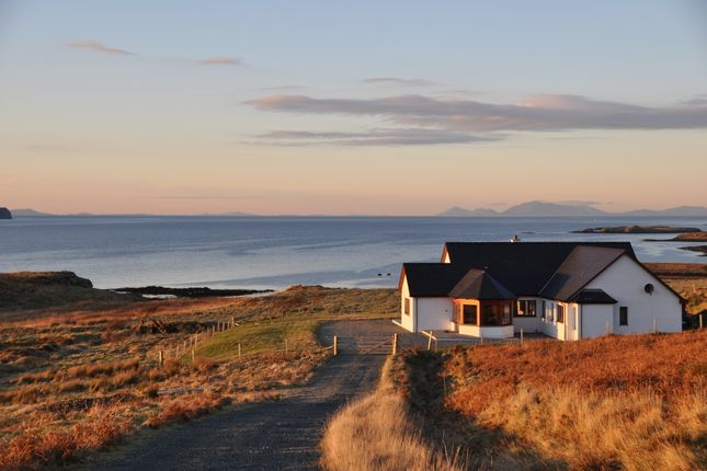Thumbnail Detached bungalow for sale in 4 Claigan, Dunvegan, Isle Of Skye