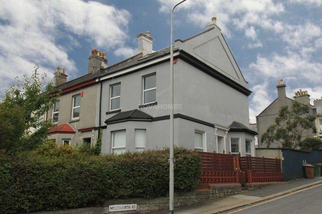 Thumbnail End terrace house for sale in Valletort Terrace, Millbridge