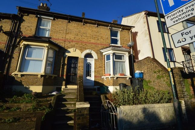 Thumbnail Terraced house to rent in Bill Street Road, Strood, Rochester