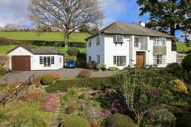 Thumbnail Detached house for sale in Knowle Road, Lustleigh, Newton Abbot
