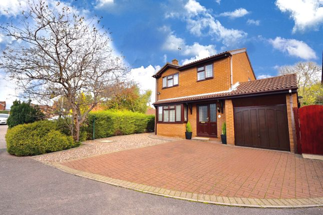 Thumbnail Detached house for sale in Rossendale Drive, Barton Seagrave, Kettering