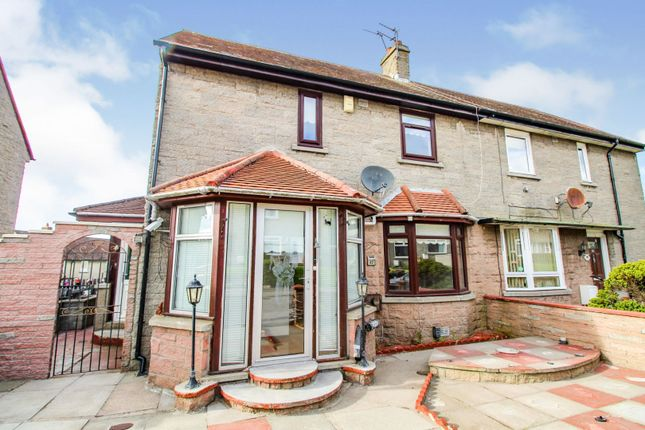 Thumbnail Semi-detached house for sale in Caiesdykes Road, Kincorth, Aberdeen