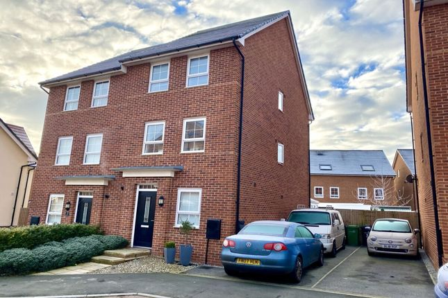 Thumbnail Semi-detached house for sale in Blackthorn Close, Edleston, Nantwich