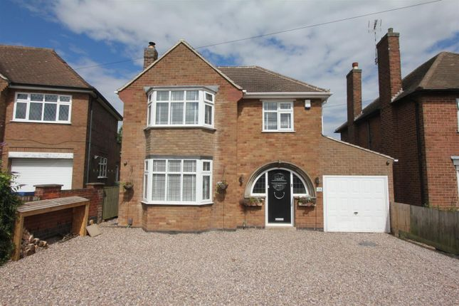 Thumbnail Detached house for sale in Sunnyhill, Burbage, Hinckley