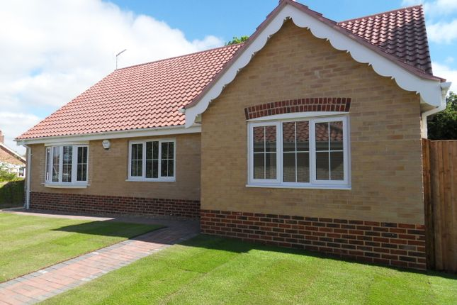 Thumbnail Detached bungalow to rent in Codlins Lane, Beccles