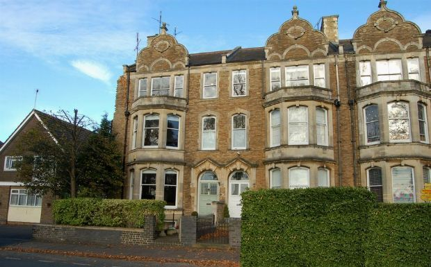 Thumbnail Town house for sale in St Georges Avenue, Kingsley, Northampton