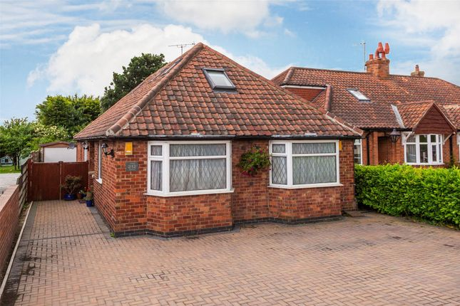 Thumbnail Detached bungalow for sale in York Road, Haxby, York