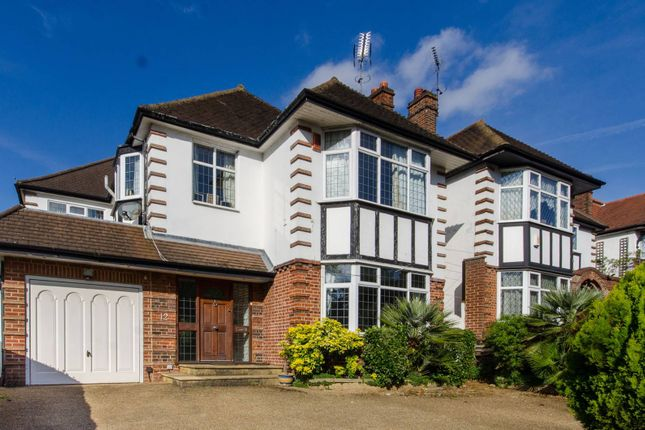 Detached house for sale in Powys Lane, New Southgate