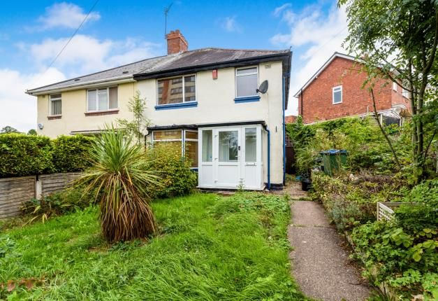 Thumbnail Semi-detached house for sale in Stanhope Road, Smethwick, Birmingham, West Midlands