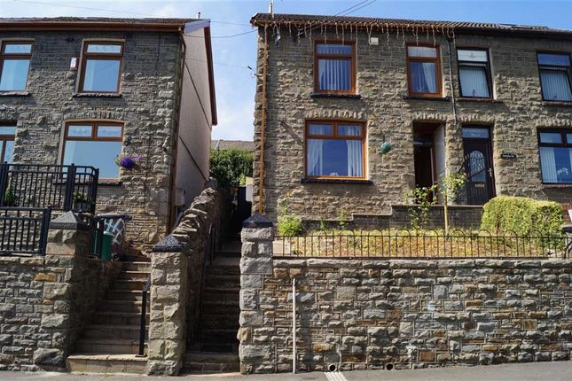 Thumbnail Semi-detached house for sale in Woodfield Terrace, Penrhiwceiber, Mountain Ash