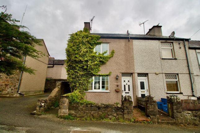 Thumbnail End terrace house for sale in Port Terrace, Y Felinheli
