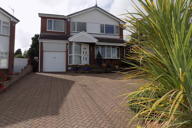 Thumbnail Detached house for sale in Heol Cae Tyla, Coychurch, Bridgend.