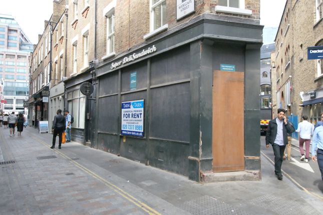 Thumbnail Leisure/hospitality to let in Widegate Street, London