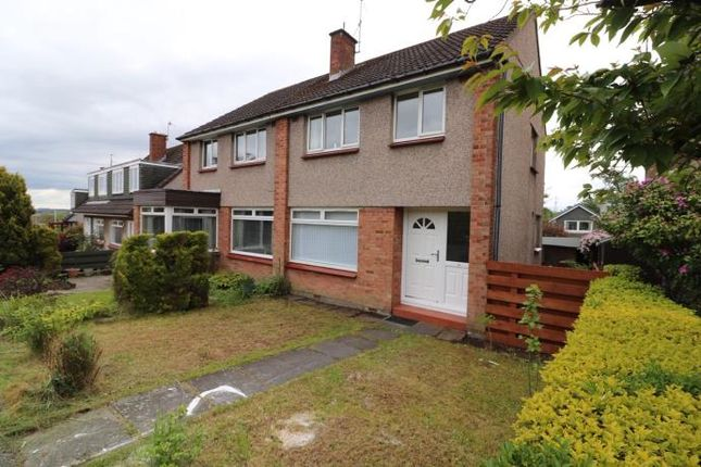 Thumbnail Semi-detached house to rent in Rullion Road, Penicuik