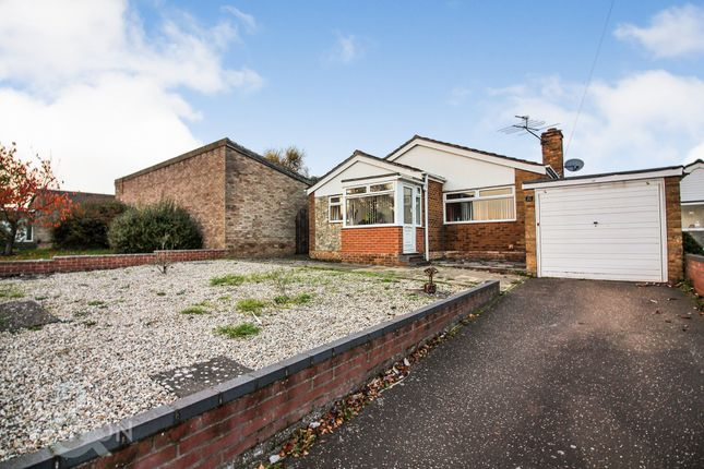 Thumbnail Detached bungalow for sale in Glenda Road, Costessey, Norwich