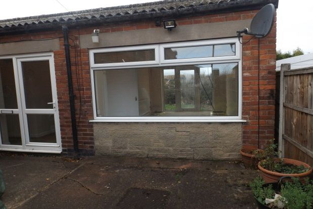 Thumbnail Bungalow to rent in Annesley Road, Hucknall