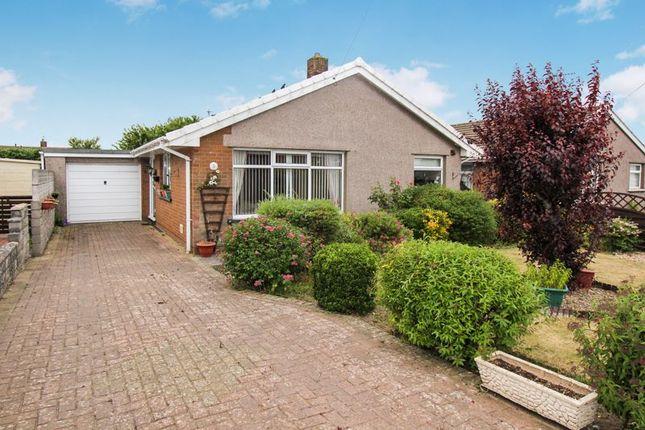 Thumbnail Detached bungalow for sale in Nurston Close, Rhoose, Barry