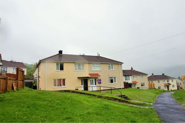 Thumbnail Semi-detached house for sale in Brodeg, Cwmbach, Aberdare