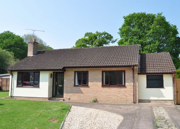 Thumbnail Detached bungalow for sale in Beech Close, Willand, Cullompton
