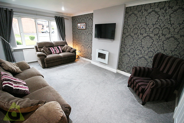 Lounge of Churnet Close, Westhoughton BL5
