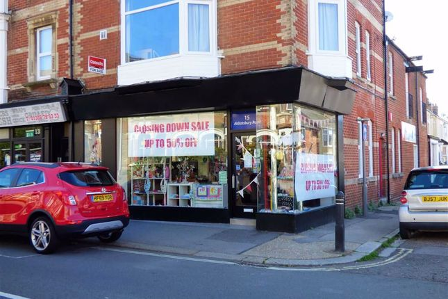 Retail premises for sale in Abbotsbury Road, Weymouth