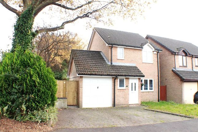 Thumbnail Detached house for sale in Stirling Crescent, Hedge End, Southampton