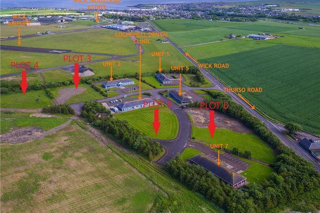 Thumbnail Land for sale in Development Sites, Wick Business Park, Wick, Caithness And Sutherland