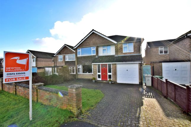 Thumbnail Detached house for sale in Ashwell Road, Cottesmore, Rutland