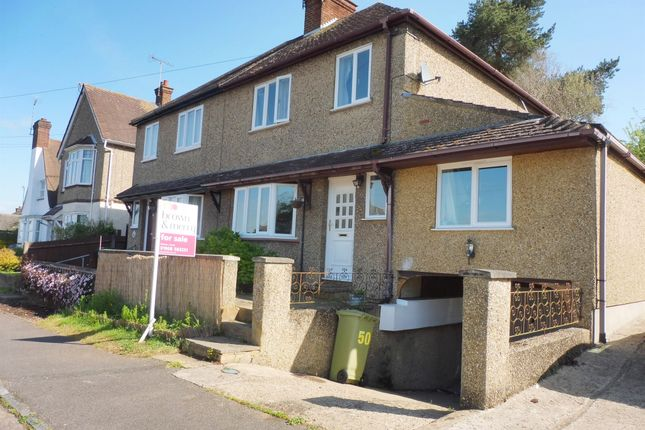 Thumbnail Semi-detached house for sale in Downham Road, Woburn Sands, Milton Keynes