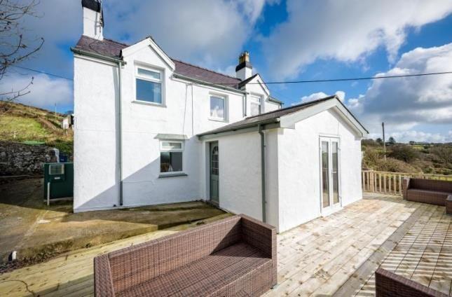 Thumbnail Detached house for sale in Garnfadryn, Pwllheli, Gwynedd