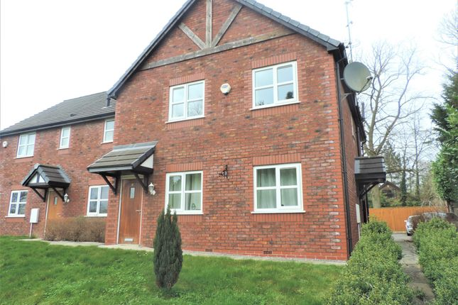 Thumbnail Flat for sale in Green Croft, Yarnfield, Stone