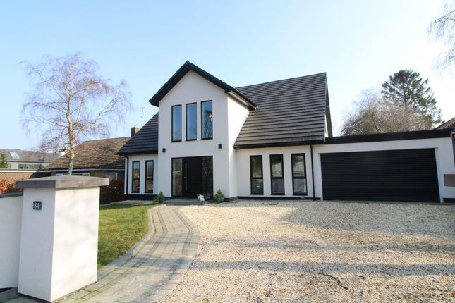 Thumbnail Detached house for sale in Errington Road, Darras Hall, Newcastle Upon Tyne, Northumberland