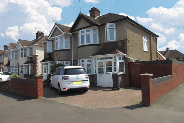Thumbnail Semi-detached house for sale in Carlton Avenue, Feltham, Middlesex
