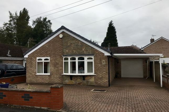 Thumbnail Bungalow to rent in Cumberland Road, Congleton