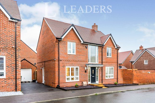 Thumbnail Detached house to rent in Lewry Road, Botley, Southampton