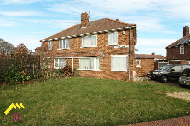 Semi-detached house for sale in Lonsdale Avenue, Doncaster