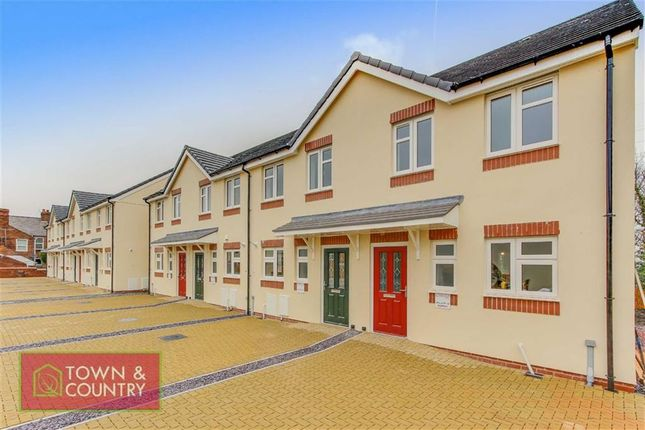 Thumbnail Terraced house for sale in St Marks Mews, Church Hill, Deeside, Flintshire